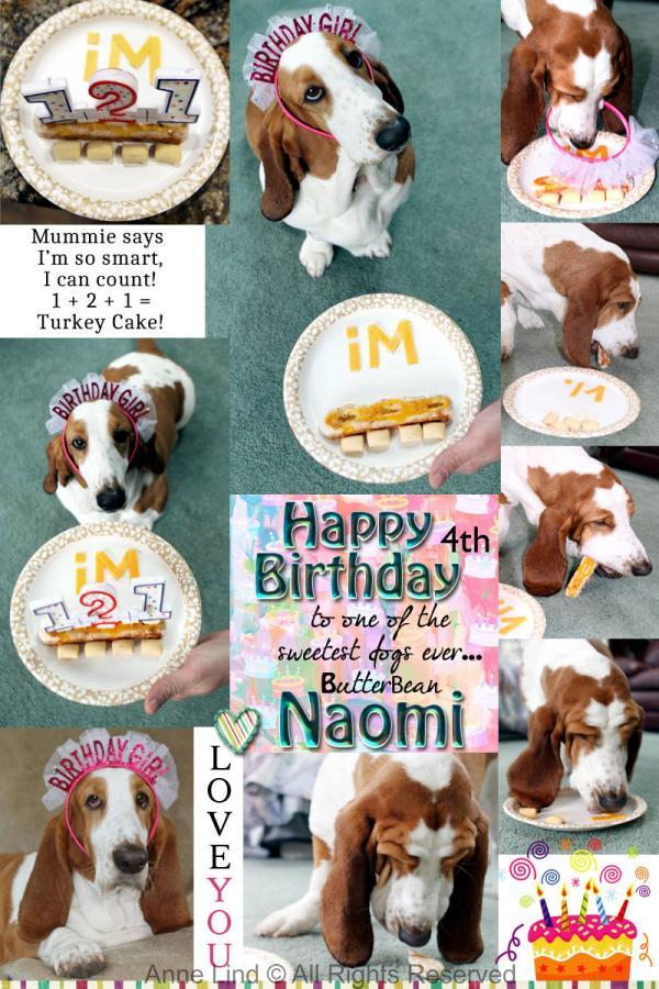 Naomi's 4th birthday 2020